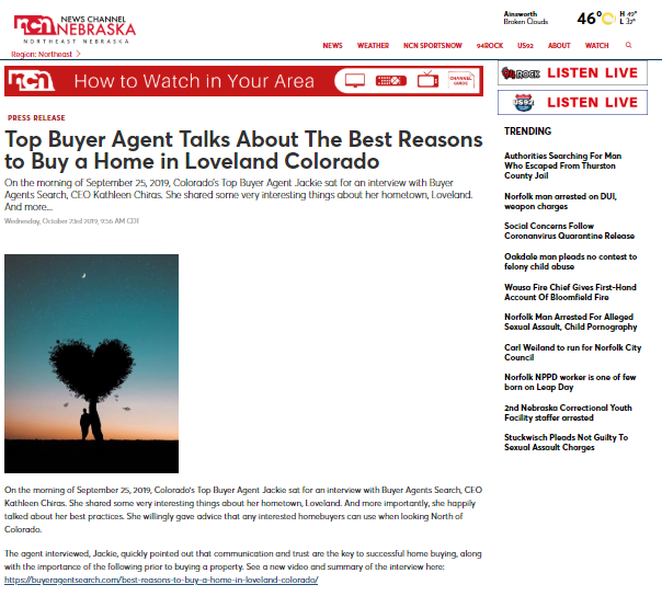 Top Buyer Agent Talks About The Best Reasons to Buy a Home in Loveland Colorado