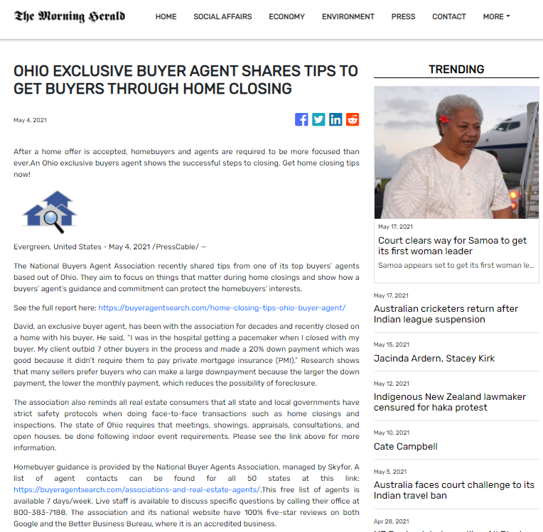 Ohio Exclusive Buyer Agent Shares Tips To Get Buyers Through Home Closing